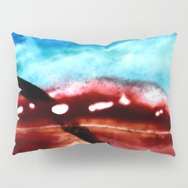 the earth is on fire Pillow Sham