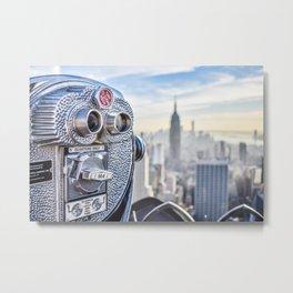 New York City Skyline and Views Metal Print