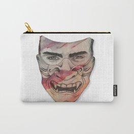 Ganbatteru Samurai Mask Carry-All Pouch
