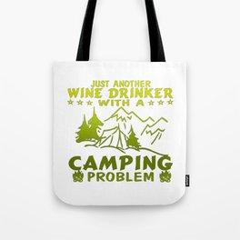 Wine & Camping Tote Bag