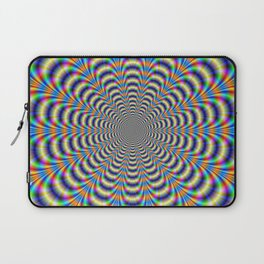Rosette in Yellow and Blue Laptop Sleeve