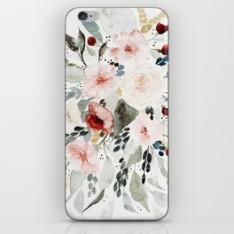 Loose Watercolor Bouquet iPhone Skin