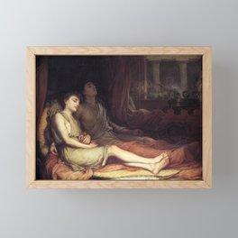 John William Waterhouse Sleep and his half-brother Death 1874 Framed Mini Art Print