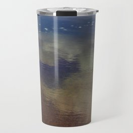 Clouds in the Sand at Widemouth Bay Travel Mug