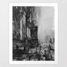 collage no. 01 Art Print