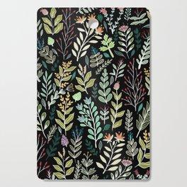 Dark Botanic Cutting Board