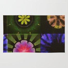 Brinish Symmetry Flowers  ID:16165-053020-45980 Rug