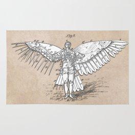 patent art Spalding Flying Machine 2    1889 Rug