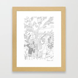 beegarden.works 006 Framed Art Print