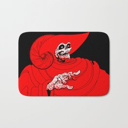 The Red Death Bath Mat