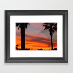 Florida|Sky. Framed Art Print