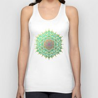 boho Tank Tops featuring Boho Medallions by Lisa Argyropoulos