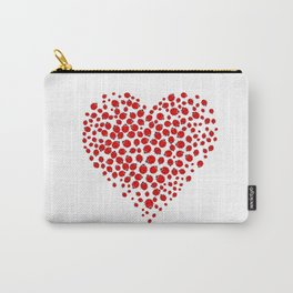 Ladybug heart Carry-All Pouch