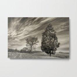Clouds at my work Metal Print