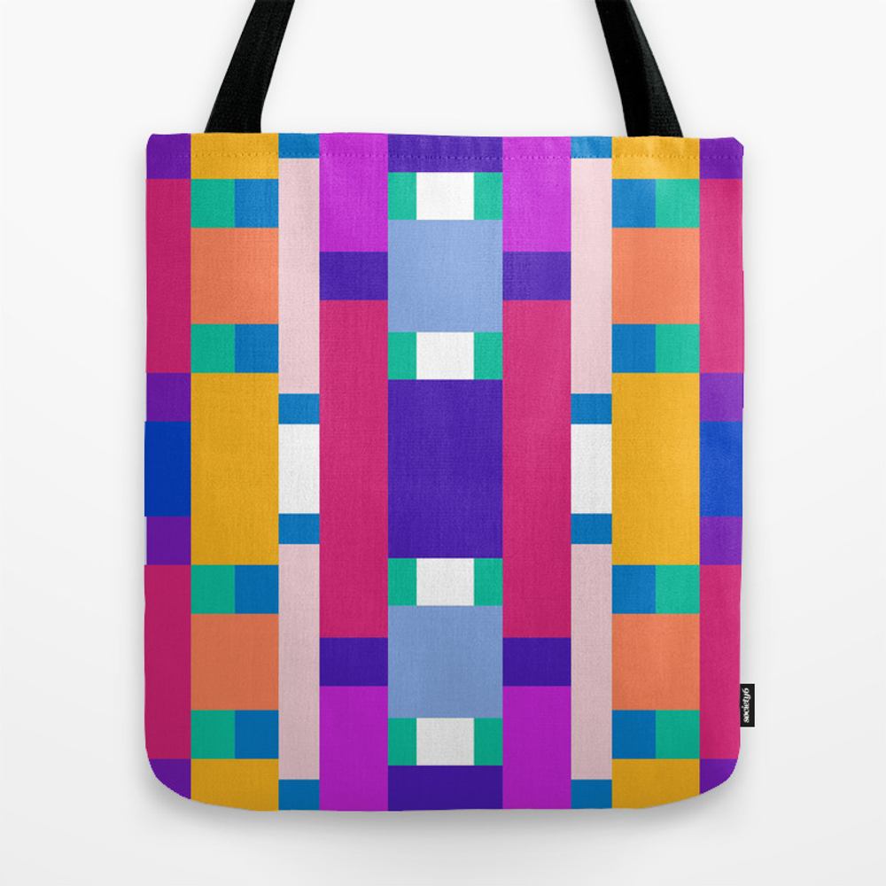 Pop Rectangles Lunch Tote by Latex TBG8057630