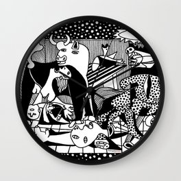 Picasso - Guernica Wall Clock