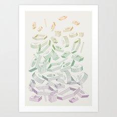 Muddled Art Print