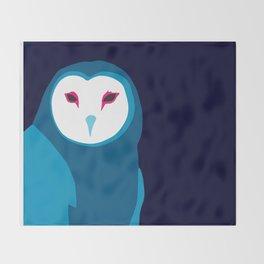 Fancy Owl Throw Blanket