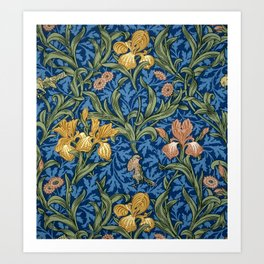 "William Morris ""Iris"" 1. Kunstdrucke"