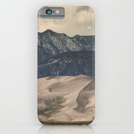 Great Sand Dunes National Park - Rocky Mountains Colorado iPhone Case