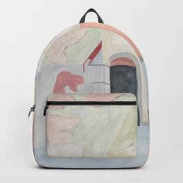 Decay art: pastel Backpack