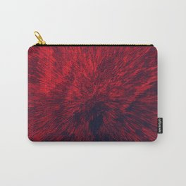 Bold Burst in Brilliant Red Carry-All Pouch