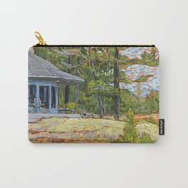Cottage on the Rocks Carry-All Pouch