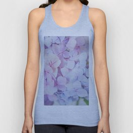 Bloomin' Fabulous Hydrangeas Unisex Tank Top