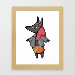 Monster Girl: Anubis Framed Art Print
