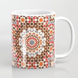 N64 - Traditional Geometric Moroccan Vintage Style Artwork Coffee Mug