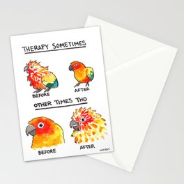 Bird no. 490: Other Times Tho Stationery Cards