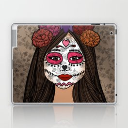 Gabriela on the Day of the Dead Laptop & iPad Skin