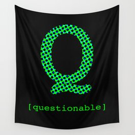 #Q [questionable] Wall Tapestry