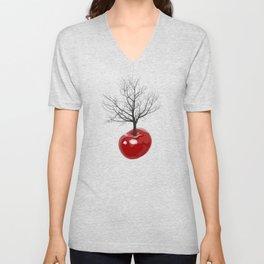 Cherry tree of cherries Unisex V-Neck