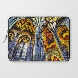 Vienna Cathedral Vincent Van Gogh Laptop Sleeve