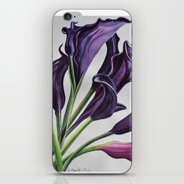Purple passion iPhone Skin