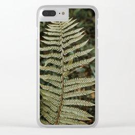 Fern detail Clear iPhone Case
