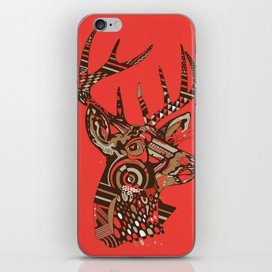 ROAD KILL ~ RED iPhone & iPod Skin