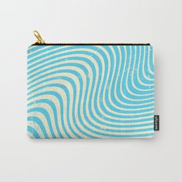 surreal swirl (blue) Carry-All Pouch