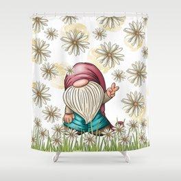 Hippie Gnome Shower Curtain