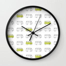 Hippie Van (AKA V W Bus) Wall Clock