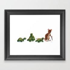 Awkward Family Framed Art Print