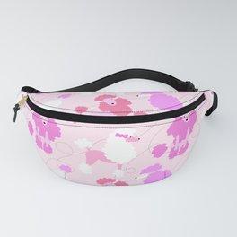50s Pink Poodle Skirt Fanny Pack
