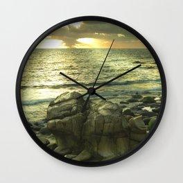 Porth Nanven, Cot Valley 1, Cornwall, England, United Kingdom Wall Clock