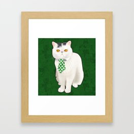 Dagoo (Green) Framed Art Print