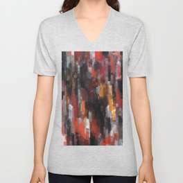 Koi Pond Unisex V-Neck
