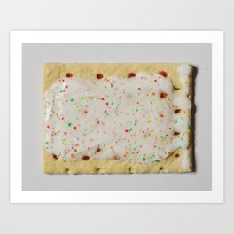 Dessert for Breakfast Art Print