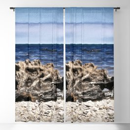 Beached Tree Blackout Curtain