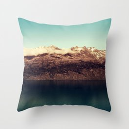 Distant kingdom Throw Pillow