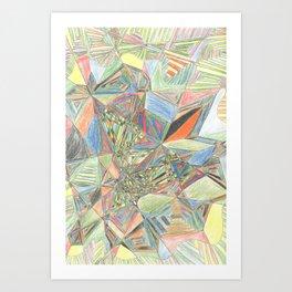 Cluster of Dimensions Art Print